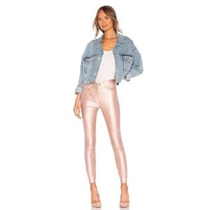 Free People Rose Metallic legging Pants